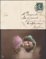 France 1916 - Courriers Convoyeurs- Carte Postale De Hirson-Valenciennes à Destination Izeghem.. (VG) DC-9029 - Railway Post