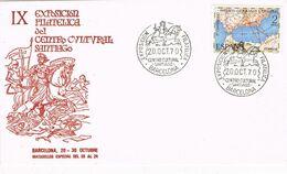 37441. Carta BARCELONA 1970. Centro Cultural SANTIAGO, Exposicion Filatelica - 1931-Aujourd'hui: II. République - ....Juan Carlos I