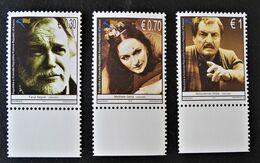 PERSONNALITES DU CINEMA KOSOVAR 2010 - NEUFS ** - YT 48/50 - MI 147/51 - BAS DE FEUILLES - Kosovo
