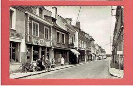 LE LION D ANGERS 1953 CAFE TABAC LE GLOBE RUE DU GENERAL LECLERC CARTE EN TRES BON ETAT - Frankreich