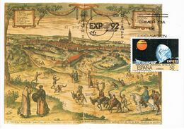 37443. Tarjeta Maxima MADRID 1987. EXPO 92 De Sevilla - Tarjetas Máxima