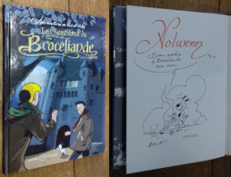 Vick Et Vicky, Tome 8: Les Sorcières De Brocéliande (DESSIN ORIGINAL & ÉO) - Verzamelingen