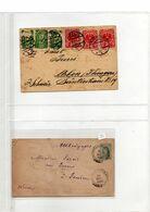 Lot De 63 Lettres Dont Nombreuses Avec Cachets Intéressants - Collections (en Albums)