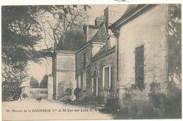 SAINT CYR SUR LOIRE - Manoir De La Gagnerie - Saint-Cyr-sur-Loire