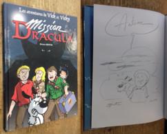 Les Aventures De Vick Et Vicky, Tome 14: Mission Dracula (ÉO & DÉDICACE) - Verzamelingen