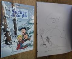 Les Aventures De Vick Et Vicky: Le Secret Du Lac Gelé (DESSIN ORIGINAL) - Verzamelingen