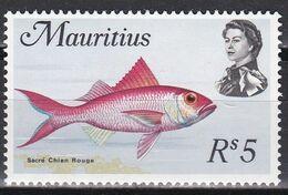 Mauritius 1969 - Mi.Nr. 347 X - Postfrisch MNH - Tiere Animals Fische Fishes - Fishes