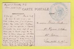 DD / FRANCE SUR CARTE POSTALE  / CACHET MILITAIRE : HÔPITAL D'EVACUATION - LE MEDECIN CHEF / 1915 - Guerre De 1914-18