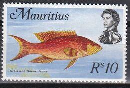 Mauritius 1969 - Mi.Nr. 348 X - Postfrisch MNH - Tiere Animals Fische Fishes - Fishes