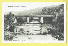* Membach (Baelen - Liège - La Wallonie) * Pont Sur La Vesdre, Canal, Quai, Bridge, Animée, Rare, Old, CPA Unique - Baelen