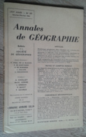 Annales De Géographie N°377 (janvier-février 1961) - Viaggi