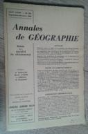Annales De Géographie N°375 (septembre-octobre 1960) - Viaggi