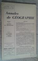 Annales De Géographie N°371 (janvier-février 1960) - Viaggi