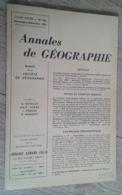 Annales De Géographie N°370 (novembre-décembre 1959) - Viaggi