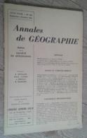 Annales De Géographie N°369 (septembre-octobre 1959) - Viaggi