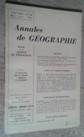 Annales De Géographie N°367 (mai-juin 1959) - Viaggi