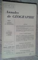 Annales De Géographie N°365 (janvier-février 1959) - Voyages