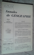 Annales De Géographie N°364 (novembre-décembre 1958) - Voyages