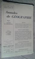 Annales De Géographie N°363 (septembre-octobre 1958) - Voyages
