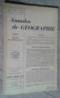Annales De Géographie N°361 (mai-juin 1958) - Voyages