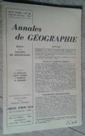 Annales De Géographie N°359 (janvier-février 1958) - Voyages