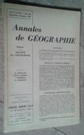 Annales De Géographie N°357 (septembre-octobre 1957) - Voyages