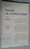 Annales De Géographie N°356 (juillet-août 1957) - Voyages