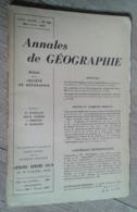 Annales De Géographie N°355 (mai-juin 1957) - Voyages