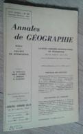 Annales De Géographie N°353 (janvier-février 1957) - Voyages