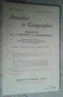 Annales De Géographie N°352 (novembre-décembre 1956) - Voyages