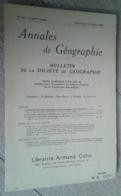 Annales De Géographie N°351 (septembre-octobre 1956) - Voyages