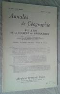 Annales De Géographie N°350 (juillet-août 1956) - Voyages
