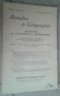 Annales De Géographie N°346 (novembre-décembre 1955) - Voyages
