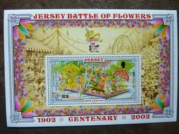 2002  BATTLE OF FLOWERS      SG = MS  1059   ** MNH - Jersey