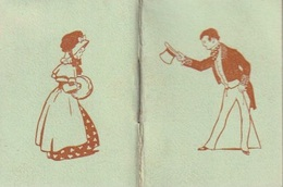 Calendrier Mignon De Poche 1909,  J. Muzac, Aurillac  3,7 X 5 Cm - Petit Format : 1901-20