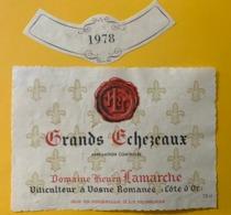 15646 -  Grands Echezeaux 1978 Domaine Henry Lamarche - Bourgogne