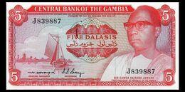 # # # Banknote Gambia 5 Dalasi 1971 AU (P-5 B.) # # # - Gambia
