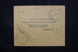 MADAGASCAR - Enveloppe D'Antsirabe Pour Tananarive En FM En 1948, Voir Cachets Militaire - L 69064 - Covers & Documents