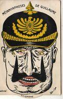 MILITARIA  ILLUSTRATEUR   Métamorphoses De Guillaume II  ........... Carte à Système à Roulette Modifiant La Physionomie - Humoristiques