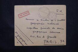 MADAGASCAR - Enveloppe De Tananarive En FM Pour Paris En 1948 Par Avion ( étiquette ) - L 69066 - Covers & Documents
