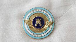 Argentina Argentine Air Force Armee  De L'air Engineer Badge Insigne Shield  #16 - Insigne & Ordelinten