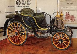 Auto Vintage Car Voiture Panhard & Levassor 1894-1895 - Autres