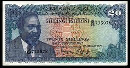 # # # Banknote Kenia (Kenya) 20 Shillings 1975 # # # - Kenia