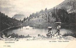 Switzerland Lac Lioson Alpes Vaudoises Alpenseestudie - Sonstige