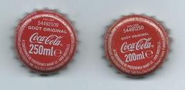 V 2 - Capsule Bouteille COCA COLA - Soda