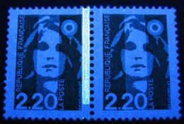 Briat Variété 2714, 2,20, Paire, Sans Phospho Tenant A Normal, Neuf - 1989-96 Marianne (Zweihunderjahrfeier)