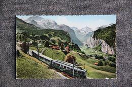 LAUTERBRUNNEN : Wengen Mit Jungfrau - BE Bern