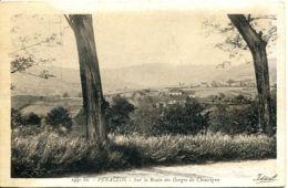 N°2621 R -cpa Péraclos -sur La Route Des Gorges De Chouvigny- - Altri Comuni