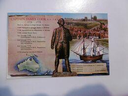 Captain James Cook R.N., F.R.S. Botany Bay Map, Whitby, Ship - 1768 Bi Centenary 1968 - Altri