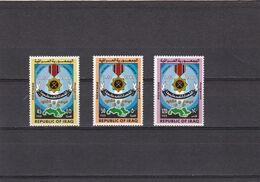 Irak Nº 1023 Al 1025 - Iraq